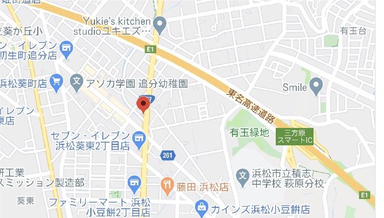 初生建材センター地図