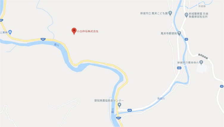 小立工場地図