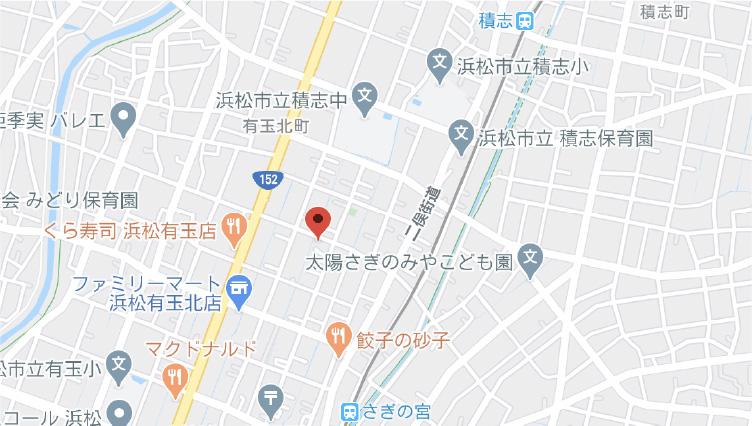 浜松支店地図