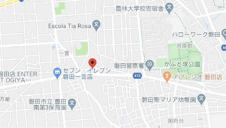 豊田建材センター地図
