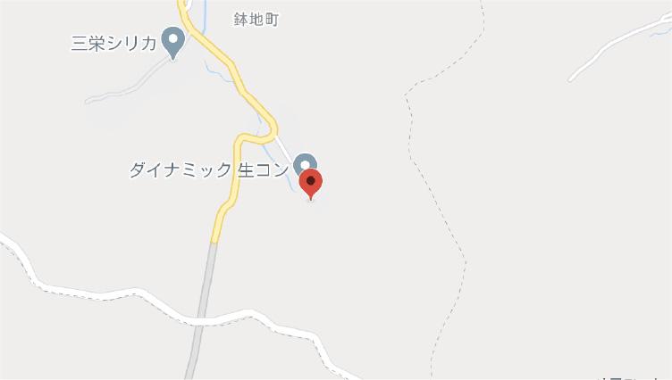 鉢地工場地図