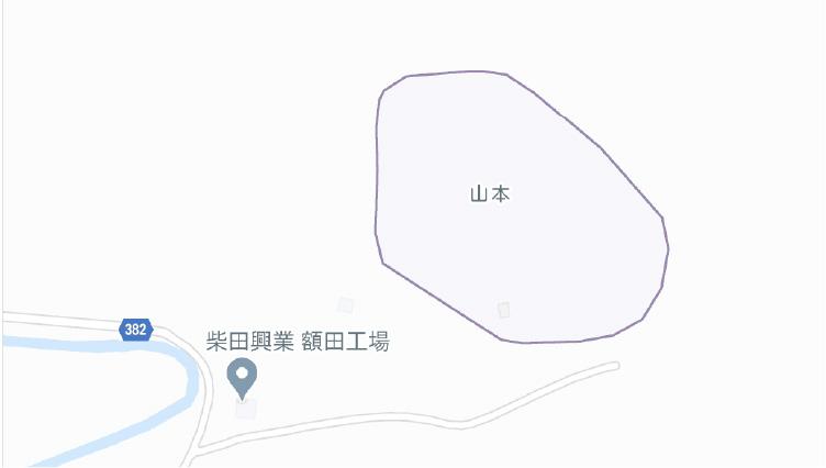額田工場地図